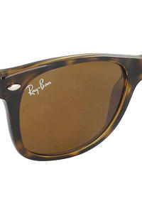 Ray-Ban New Wayfarer Sonnenbrille 55mm  (shiny havana)