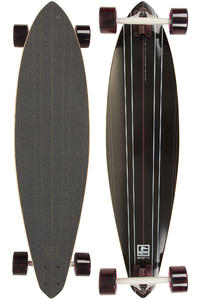 Globe Zodiac 38&quot; (96,5cm) Komplett-Longboard (black burgundy)
