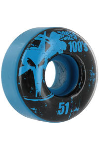 Bones 100's-OG #11 51mm Rollen 4er Pack  (blue)