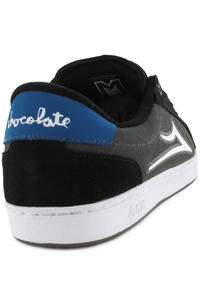 Lakai MJ 6 x Chocolate Suede Schuh (black grey)