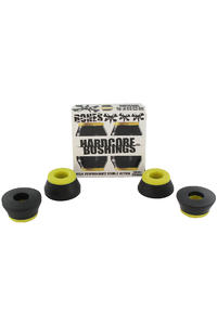 Bones 91A Hardcore-Medium Lenkgummi 2er Pack  (black yellow)