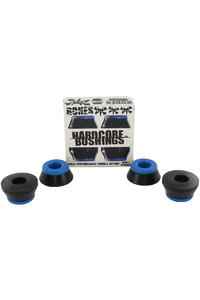Bones 81A Hardcore-Soft Lenkgummi 2er Pack  (black blue)