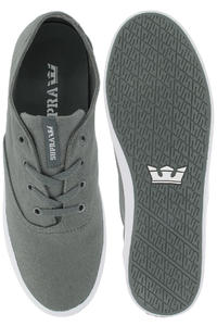 Supra Wrap Schuh (charcoal grey white)