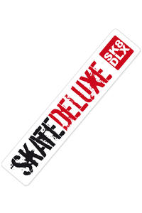 SK8DLX Combo long 100 cm Sticker (white)