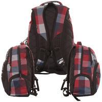 Vans 5-0 Rucksack (navy red cement)