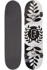 Flip Team Wreath 8&quot; Complete-Board (black silver)