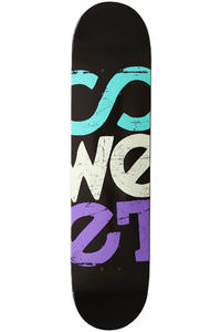 "Sweet Rough Solid 7.5"" Deck (black)"