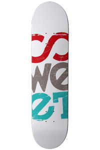 "Sweet Rough Solid 7.75"" Deck (white)"