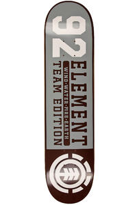 "Element Team Edition Quarter 7.5"" Deck (grey)"