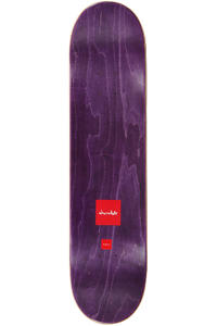 "Chocolate Anderson Chunk Wash 7.81"" Deck (green)"