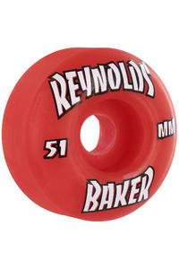 Baker Reynolds Thrasher 51mm Rollen 4er Pack  (red)