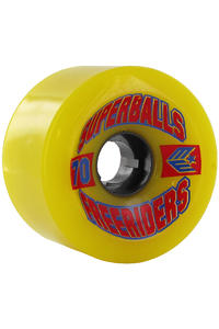 Earthwing Superballs Freeriders 70mm 81A Rollen 4er Pack