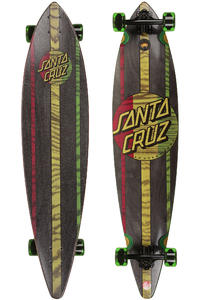 Santa Cruz Mahaka Rasta 9.9&quot; x 43.5&quot; Complete-Longboard