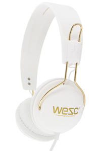 WeSC Tambourine Golden Headphones (white)