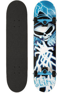 "Blind Shockwave 7.625"" Complete-Board (blue white)"