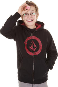 Volcom Circle Check Zip-Hoodie kids (black)