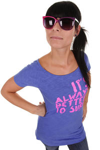 Roxy Forever Young Neon T-Shirt girls (amparo blue)