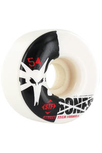 Bones STF-Standard 54mm Wheel 4er Pack  (white)