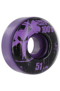 Bones 100's-OG #11 51mm Rollen 4er Pack  (purple)