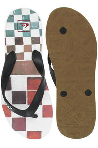Quiksilver Carver DNA Sandale (white black multi)