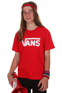 Vans Classic T-Shirt kids (red white)