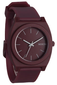Nixon The Time Teller P Uhr (matte bordeaux)