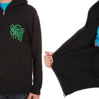 Blind Graffiti Zip-Hoodie kids (black)
