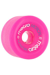 Metro Wheels Motion 70mm 78a Rollen 4er Pack  (pink)