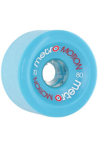 Metro Wheels Motion 70mm 80A Rollen 4er Pack  (blue)