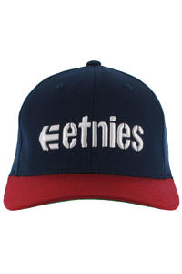 Etnies Corporate 3 FlexFit Cap (navy red)