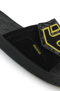 Etnies Iconic Sandale (black grey yellow)