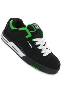 Globe Cleaver Schuh (black green white)