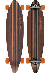 "Globe Pinner 41.25"" (105cm) Complete-Longboard (black orange)"