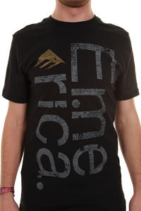 Emerica Sideways T-Shirt (black grey)