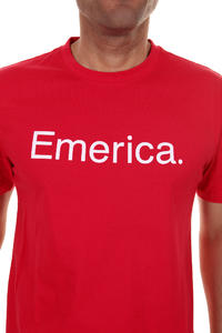Emerica Pure 12 T-Shirt (red white)