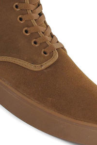 Emerica High Laced Suede Schuh (brown gum)