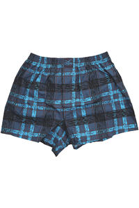 Lousy Livin Underwear Analog Check Boxershorts (blue)
