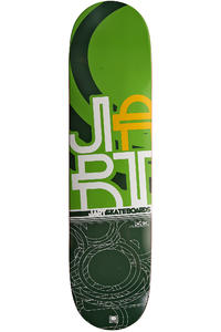 "Jart Skateboards Mosaic Logo 7.75"" Deck (green)"