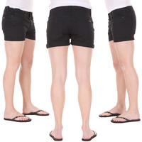 Carhartt Recess Acoma Shorts girls (black stone washed)