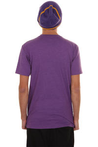 Cleptomanicx Super Zitrone T-Shirt (heather purple)
