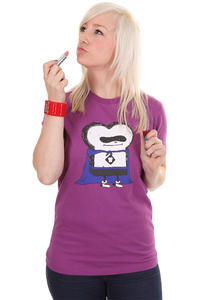 Cleptomanicx Super Toast T-Shirt girls (fresh berry)
