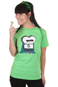 Cleptomanicx Super Toast T-Shirt girls (spring bouqet)