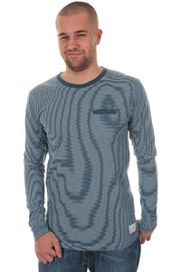 Cleptomanicx Ministripe Longsleeve (blue)