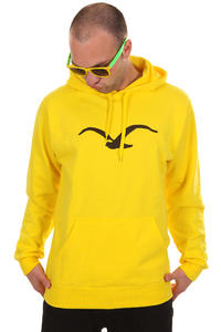 Cleptomanicx Möwe Hoodie (bright yellow)