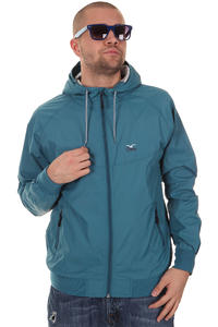 Cleptomanicx Burner Nylon Jacke (blue)