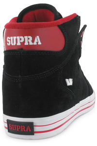 Supra Vaider Suede Schuh (black formula one red)