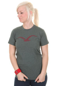 Cleptomanicx Möwe T-Shirt girls (heather black forest)
