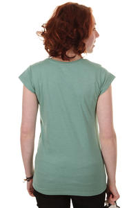 Cleptomanicx Mwe Scoop T-Shirt girls (heather beryl green)