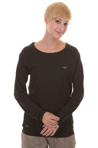 Cleptomanicx Lodato Longsleeve girls (black)