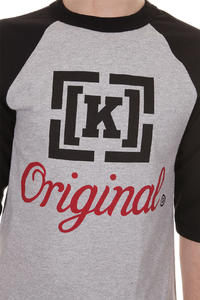 KR3W Original 2 Tone 3 T-Shirt (athletic black)